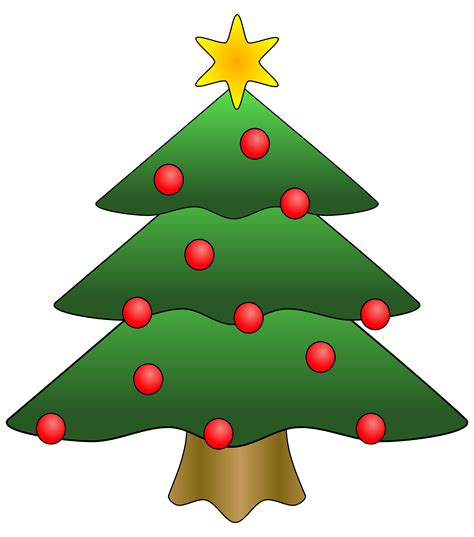 clipart christmas tree with presents clipart panda