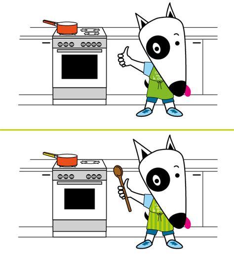 jeux de cuisine de gar輟n jeu des 7 erreurs n 176 06 hygi 232 ne et pr 233 cautions en cuisine
