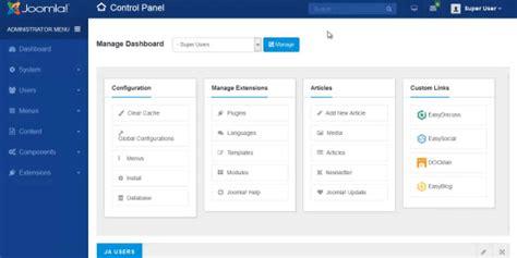 template joomla dashboard joomla admin template ja admin joomla templates and