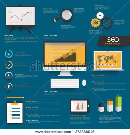 royalty free modern infographics set and icons it