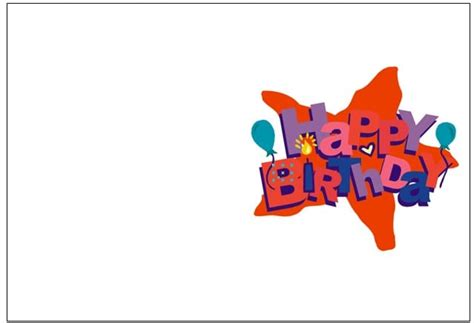 birthday cards templates for him 6 birthday card templates word excel pdf templates