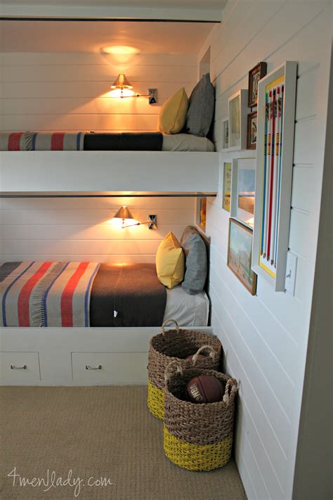 room bunk bed bunk beds and bedroom reveal