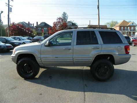2002 Jeep Grand Lifted Purchase Used 2002 Jeep Grand Limited Sport