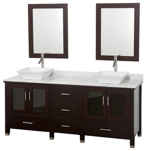 vessel sink vanities contemporary bathroom vanities