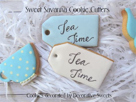 tea bag cookie cutter
