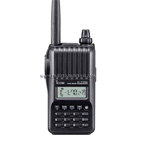icom ic t70 dual band ht handy talky pt radio