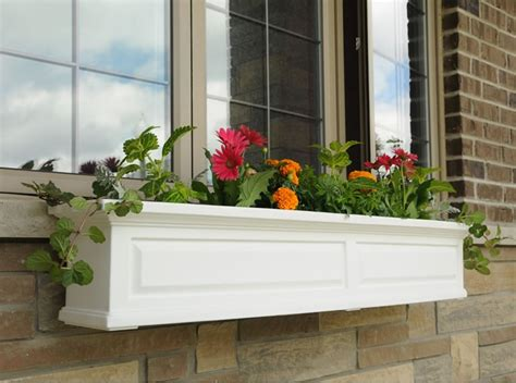 mayne nantucket 60 inch window box vinyl planter