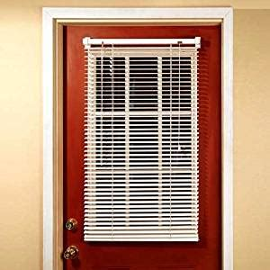 magnetic blinds for french doors use luxury style to make amazon com magne blind aluminum magnetic mini blind