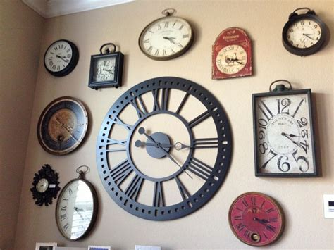 clock runing themes 25 great ideas about wall of clocks on pinterest