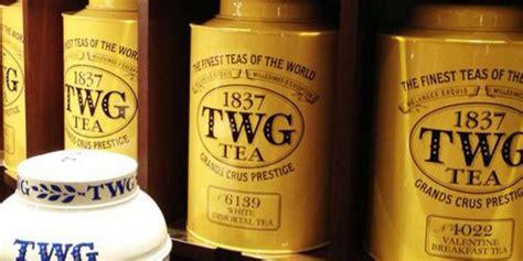 Teh Twg begini rasanya menikmati teh mewah
