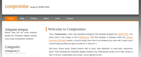 membuat web css cara membuat website dengan template css nulis ilmu com