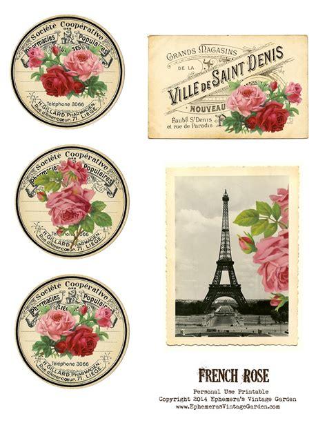 printable french postcards ephemera s vintage garden march 2014