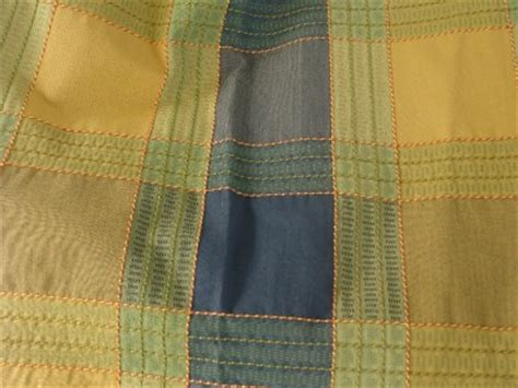 blue and green plaid curtains kaufman country mustard yellow blue and green striped