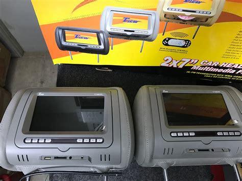 cabecera jetta a4 cabeceras con pantallas tview con dvd y juegos 6 500