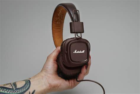 Marshall Major Headphones marshall major brown headphones gearmoose