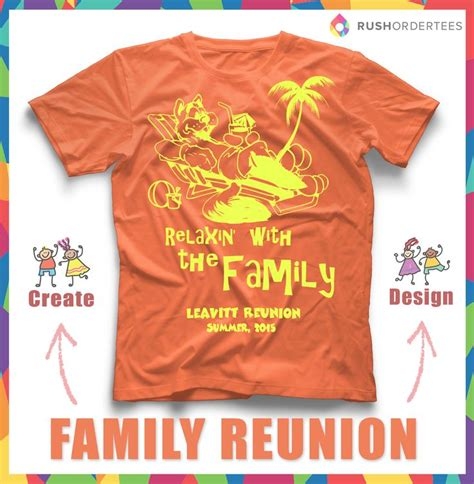 Family Reunion Summer Vacation Custom T Shirt Design Customize Yourself Rushordertees Com Family Reunion Templates For T Shirts