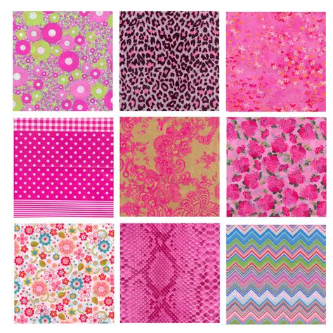 Decoupage Patterns - decopatch decoupage printed paper 381 x 305mm pink