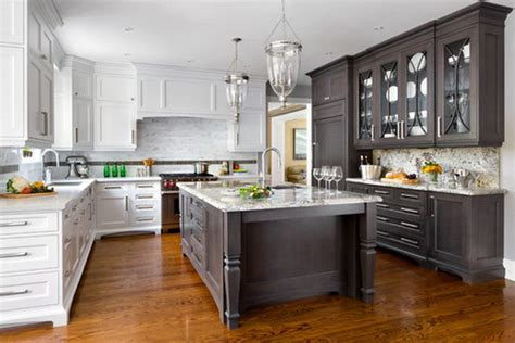 where to get kitchen cabinets stylish two tone kitchen cabinets for your inspiration