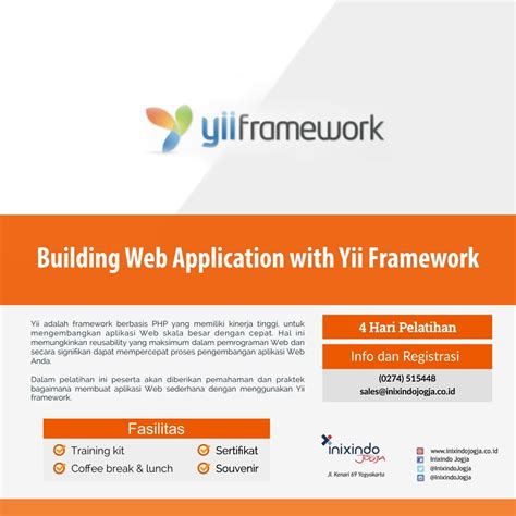 yii session tutorial building web application with yii framework inixindo jogja