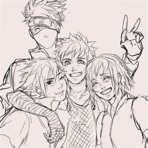 Pencil Kakashi Sai Anime 657 best images about on the