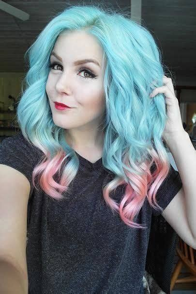 how long does permanent hair color last enlighten me best 25 blue and pink hair ideas on pinterest fantasy
