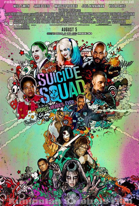 rekomendasi film action comedy sinopsis film suicide squad 2016 mbah sinopsis