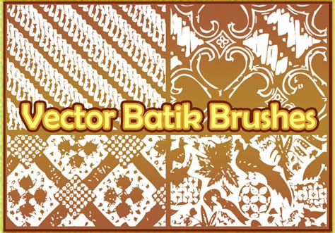 modern batik pattern vector vector batik free photoshop brushes at brusheezy