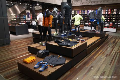 sport shoe shop niketown world s largest nike store freshness mag