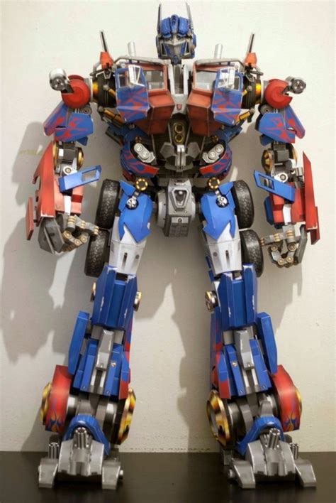 Papercraft Transformers Optimus Prime - projeto papercraft optimus prime transformers r 5 00 em