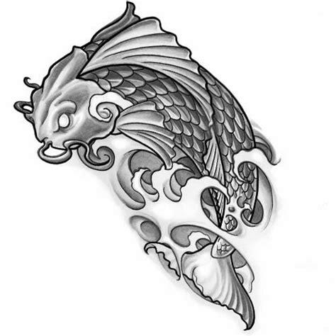 koi fish tattoo stencil tattoos book 2510 free printable tattoo stencils animals