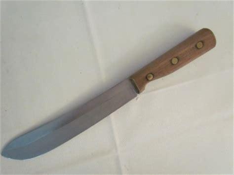 vintage chicago cutlery knives vintage chicago cutlery butcher knife model 47s ebay