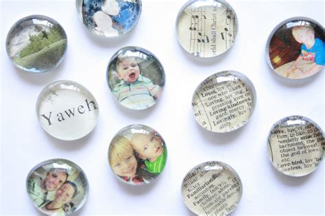the creative place diy glass magnets