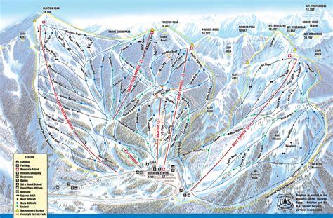 brighton trail map brighton utah ski america s top 100 resorts project