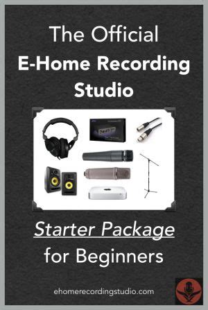 Home Recording Studio For Beginners 25 Best Ideas About Home Recording Studio Package On
