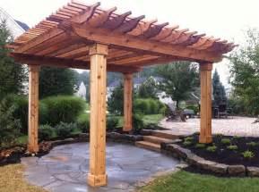 Wooden Pergolas For Sale by Pergola Natural Cedar Pergola Kits Home Depot Cedar