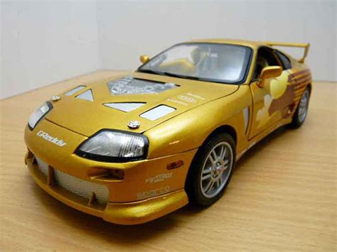 fast and furious 1 cars toyota supra fast and furious 2 ertl diecast model car 1
