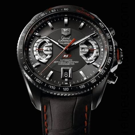 Tag Heuer Calibre 17 Rs2 Leather 1 tag heuer grand calibre 17 rs2 6 550 tagheuer watches chronograph tag heuer