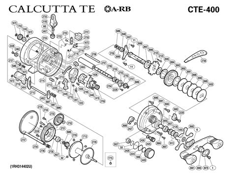 shimano calcutta 200 parts diagram sophisticated shimano calcutta 400 parts diagram