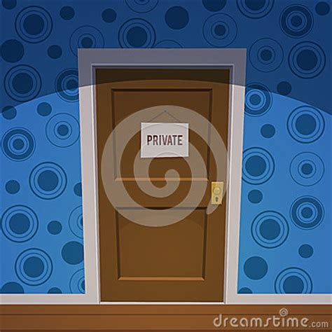 private room stock vector image
