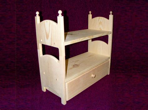 18 Doll Bunk Bed Stackable Doll Bunk Bed With Trundle 18 20 Inch American Doll Furniture