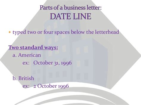 Parts Of The Business Letter Pdf parts of a business letter basic and optional parts of a