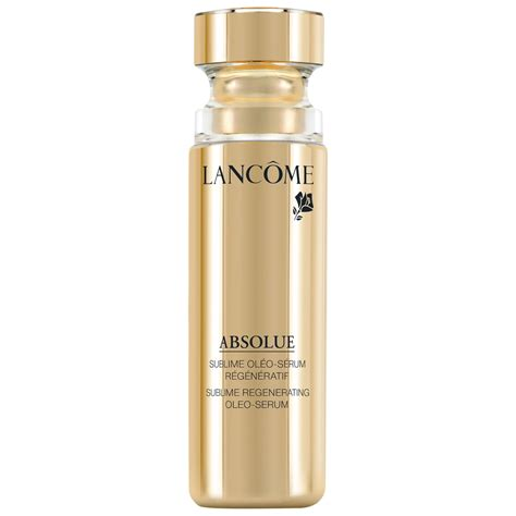 Serum Lancome lancome rolls out absolue oleo serum
