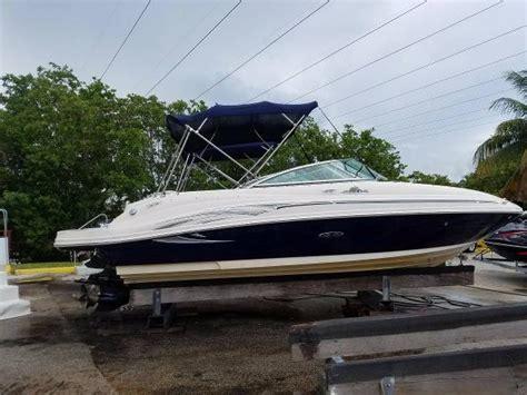 sea ray boats for sale miami sea ray 220 sundeck boats for sale in miami florida
