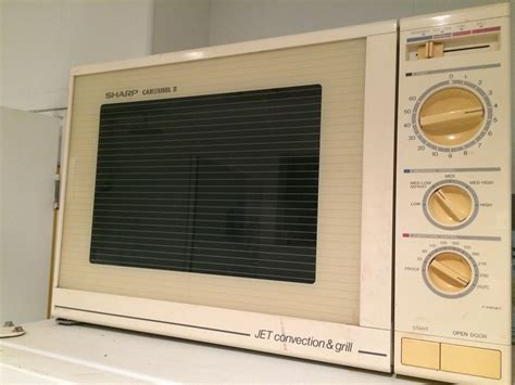 Magnetron Microwave Sharp sharp carousel ii it was given as a wedding present to my