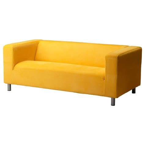 Klippan Sofa Bed Ikea Klippan Slipcover Leaby Yellow Sofa Loveseat Cover