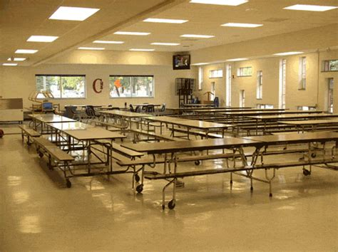 the lunch room school