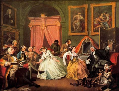 illuminismo milanese el matrimonio a la moda de hogarth historia de pinceles