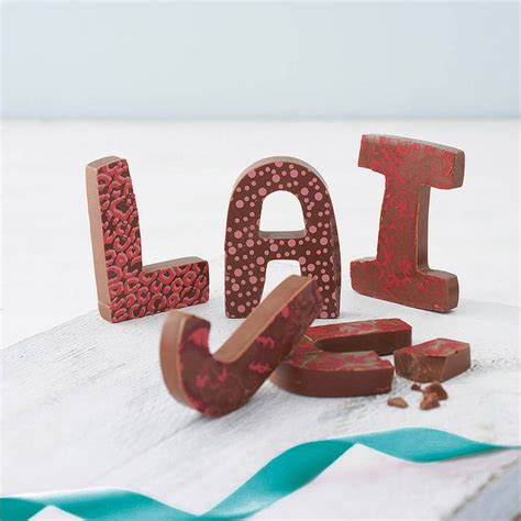 1000 Ideas About Chocolate Letters On