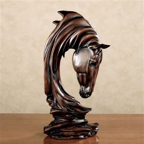 horse statues for home decor reflect equine grace with horse home decor touch of