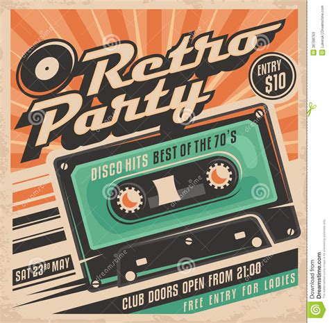 retro poster template retro poster design template stock photos image